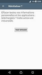 Sony Xperia X - Android Nougat - Device maintenance - Retour aux réglages usine - Étape 8