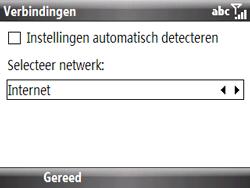 HTC S521 Snap - Internet - handmatig instellen - Stap 15