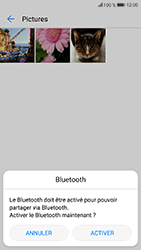 Honor 9 - Photos, vidéos, musique - Envoyer une photo via Bluetooth - Étape 9