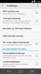 Huawei Ascend P7 - SMS - SMS-centrale instellen - Stap 6