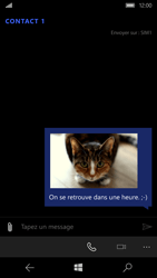 Microsoft Lumia 650 - Contact, Appels, SMS/MMS - Envoyer un MMS - Étape 16