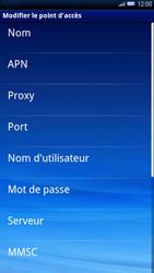 Sony Ericsson Xperia X10 - MMS - configuration manuelle - Étape 9