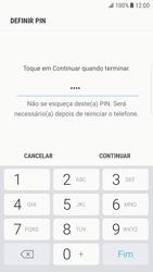 Samsung Galaxy S6 Edge - Android Nougat - Segurança - Como ativar o código de bloqueio do ecrã -  8