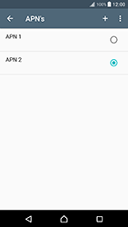 Sony Xperia XZ Premium - Internet - handmatig instellen - Stap 22
