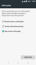 Wiko Fever 4G - Segurança - Como ativar o código de bloqueio do ecrã -  10