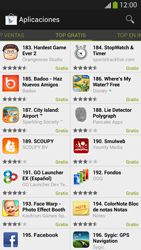 Samsung Galaxy S4 - Aplicaciones - Descargar aplicaciones - Paso 7