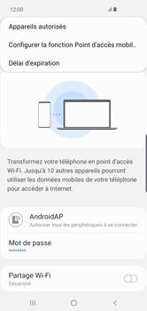 Samsung Galaxy S10 Plus - Internet - comment configurer un point d'accès mobile - Étape 9