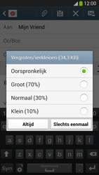 Samsung Galaxy S4 VE (I9515) - E-mail - Bericht met attachment versturen - Stap 15