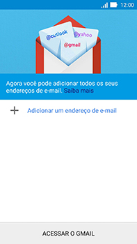 Asus Zenfone Go - Email - Como configurar seu celular para receber e enviar e-mails - Etapa 6