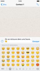 Apple iPhone 6 iOS 9 - WhatsApp - Envoyer des SMS avec WhatsApp - Étape 10
