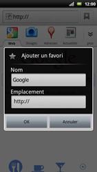 Sony Ericsson Xperia Play - Internet - Navigation sur internet - Étape 5