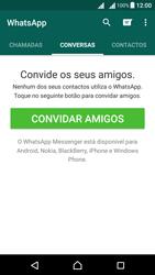 Sony Xperia X Dual SIM (F5122) - Aplicações - Como configurar o WhatsApp -  16