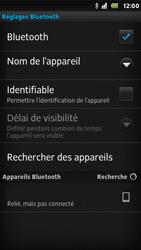 Sony ST25i Xperia U - Bluetooth - connexion Bluetooth - Étape 12