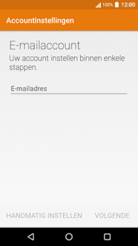 Acer Liquid Zest 4G Plus - E-mail - Handmatig instellen - Stap 6