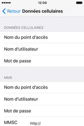 Apple iPhone 4 S iOS 9 - Internet - Configuration manuelle - Étape 7