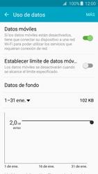 Samsung Galaxy A3 (2016) - Internet - Ver uso de datos - Paso 7
