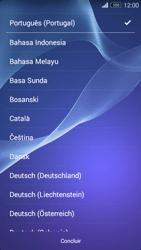 Sony Xperia M2 - Primeiros passos - Como ligar o telemóvel pela primeira vez -  4