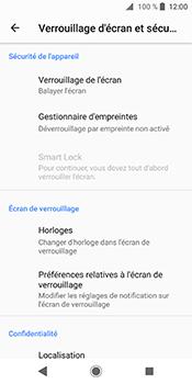 Sony Xperia XZ2 - Sécuriser votre mobile - Activer le code de verrouillage - Étape 5