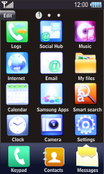 Samsung S8500 Wave - E-mail - Manual configuration - Step 3