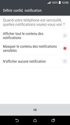 HTC Desire 530 - Sécuriser votre mobile - Activer le code de verrouillage - Étape 11