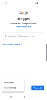 Samsung galaxy-s10e-dual-sim-sm-g970f - Applicaties - Account aanmaken - Stap 6