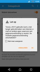 Sony Xperia M5 - Internet - Aan- of uitzetten - Stap 6