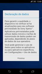Sony Xperia E4G - Primeiros passos - Como ativar seu aparelho - Etapa 14