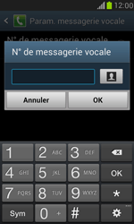 Samsung I8190 Galaxy S III Mini - Messagerie vocale - configuration manuelle - Étape 7