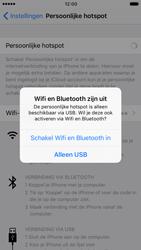 Apple iPhone 7 (Model A1778) - WiFi - Mobiele hotspot instellen - Stap 7
