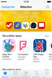 Apple iPhone 4S (iOS 8) - Applications - Télécharger une application - Étape 3