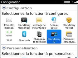BlackBerry 9720 Bold - BlackBerry activation - BlackBerry ID activation - Étape 4