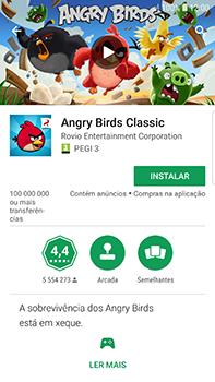 Samsung Galaxy S7 Edge - Android Oreo - Aplicações - Como pesquisar e instalar aplicações -  15