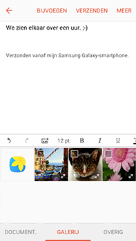 Samsung Galaxy J7 (2016) (J710) - E-mail - Bericht met attachment versturen - Stap 12