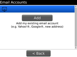 BlackBerry 9700 Bold - E-mail - Manual configuration - Step 13