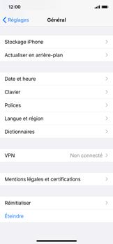 Apple iPhone XS - iOS 13 - Appareil - Restauration d