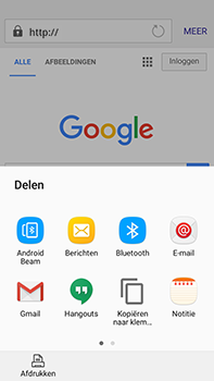 Samsung J710 Samsung Galaxy J7 (2016) - Internet - hoe te internetten - Stap 18