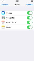 Apple iPhone 6 iOS 8 - E-mail - Configurar Gmail - Paso 9