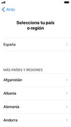 Apple iPhone SE iOS 11 - Primeros pasos - Activar el equipo - Paso 8