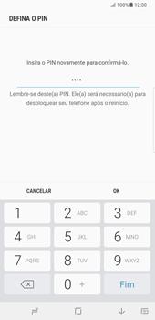 Samsung Galaxy Note 8 - Segurança - Como ativar o código de bloqueio do ecrã -  10