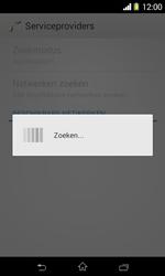 Sony D2005 Xperia E1 - Netwerk - Handmatig netwerk selecteren - Stap 10