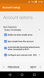 Acer Liquid Z330 - Email - Manual configuration - Step 18