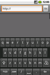 Samsung I7500 Galaxy - Internet - Internet browsing - Step 5