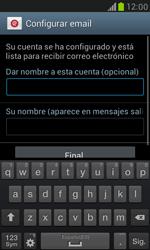 Samsung Galaxy S3 Mini - E-mail - Configurar Yahoo! - Paso 9