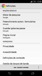 Sony Xperia M2 - Internet no telemóvel - Como configurar ligação à internet -  21