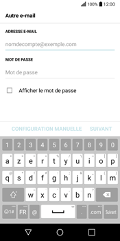 LG Q6 - E-mail - Configuration manuelle - Étape 7