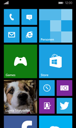 Microsoft Lumia 532 - Internet - Populaire sites - Stap 1