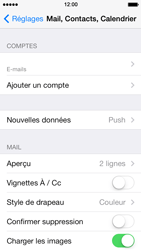 Apple iPhone 5 iOS 7 - E-mail - Configuration manuelle - Étape 24