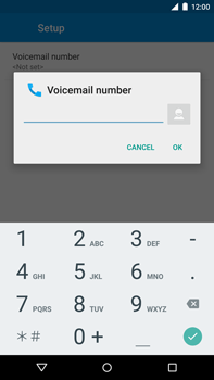 Motorola Nexus 6 - Voicemail - Manual configuration - Step 10