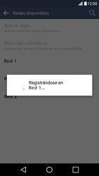 LG K10 4G - Red - Seleccionar una red - Paso 10