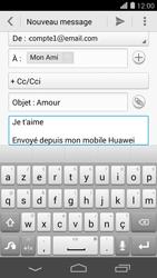 Huawei Ascend P7 - E-mail - envoyer un e-mail - Étape 9
